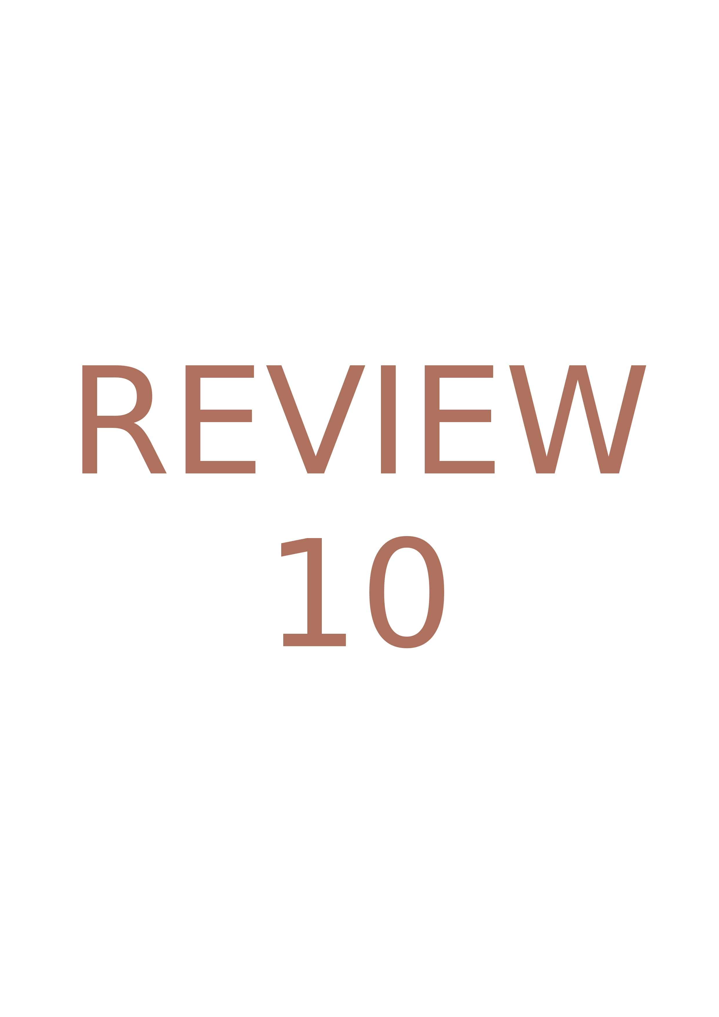 Review-10